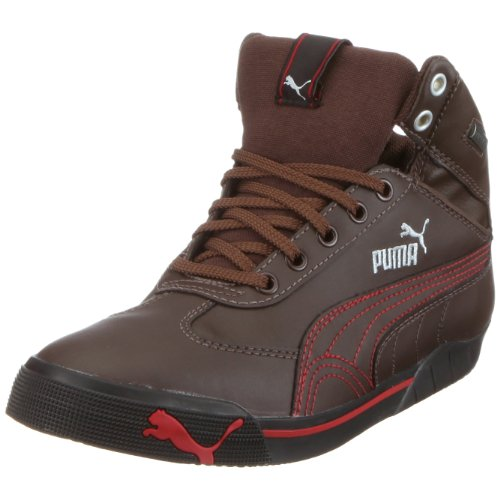 Puma 303535 02 Speed Cat 2.9 Mid GTX Jr, Unisex - Kinder Sneaker, Braun 68006edc9e