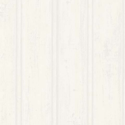 Brewster 425-6033 Northwoods Lodge Beadboard Wallpaper, 20.5-Inch by 396-Inch, White by Brewster -