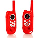 Tippi Childrens Long Range Walkie Talkies - Kids Digital Family Walky Talky Set