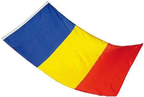 Länderflagge roumanie 150 x 90 cm en nylon anti-déchirure