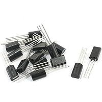DealMux a14060700ux0141 2SC2655 NPN PCB montagem de superfície General Purpose Transistor, 50V 2A, 15 peças