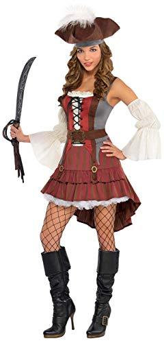 Castaway Pirate - Plus (Castaway Fancy Dress Kostüm)