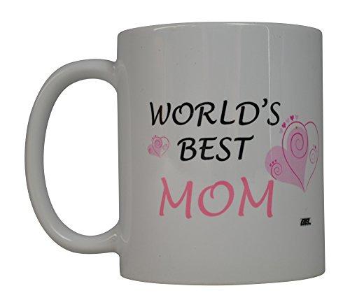 Rogue River Funny Kaffee Tasse World 's Best Mom Neuheit Tasse tolle Geschenkidee für Mama Muttertag Frau oder Eltern (Worlds Best Mom)