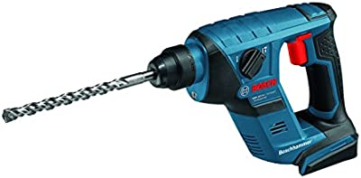 Bosch GBH 18 V-LI Compact Professional - Martillo rotatorio (Ión de litio, 18V, 27,8 cm, 20,2 cm, 1,9 kg, Negro, Azul, Rojo)