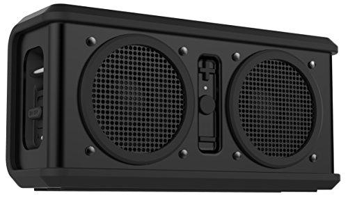 Skullcandy Air Raid Enceinte Bluetooth sans fil à batterie rechargeable Étanche Revêtement caoutchouc Gris/noir/bleu vif noir