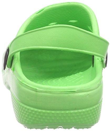 Playshoes - Eva, Scarpe da Spiaggia e Piscina Unisex – Bambini Verde (Green (Green 29))