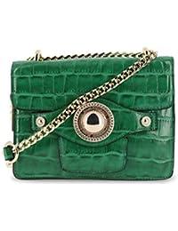 Versace Jeans Women Cross Body Bag Green Genuine Designer Crossbody Bag RRP  £213.00 fea9b6ae30