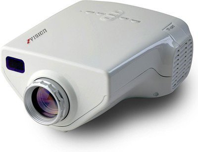 ZVision HD LED Projector 10 - 100 inch TV DVD PC with SD USB AV In VGA HDMI Port