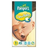 Pampers New Baby Größe 1 (2-5kg) Essential Pack Newborn 3x45 pro Packung
