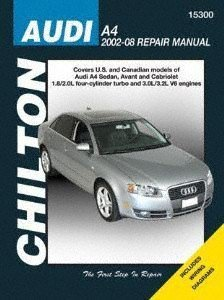 Descargar Libro Audi A4, Avant & Cabriolet Chilton Repair Manual (2002-2008) by Chilton de Unknown
