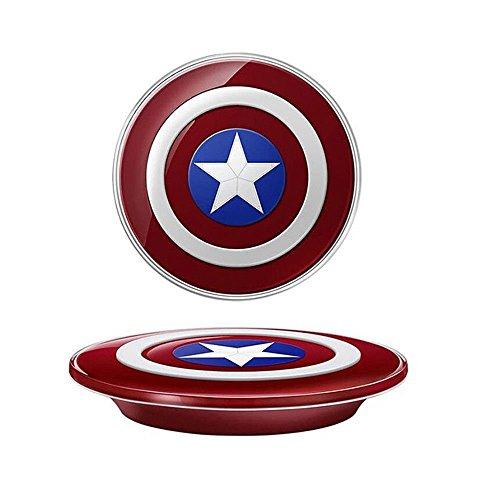 Tech Corp Captain America DE Drahtlos Wireless Induktive Ladestation/Ladegerät für Samsung Galaxy S7/S7 Edge Note 5 - 2