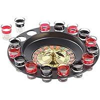 Ohuhu, Drum Wheel con 16 Shooter Glasses Game Set