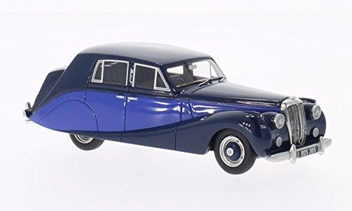 daimler-db18-hooper-empress-blu-blu-scuro-1950-modello-di-automobile-modello-prefabbricato-bos-model