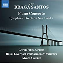 Braga Santos: Piano Concerto, Symphonic Overtures Nos. 1 and 2 [Goran Filipec, Royal Liverpool Philharmonic Orchestra, Álvaro Cassuto] [Naxos: 8573903]