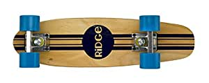 Ridge Retro Skateboard Mini Cruiser, blau, 22 Zoll, WPB-22