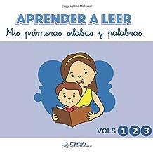 Aprender a leer. Mis primeras sílabas y palabras