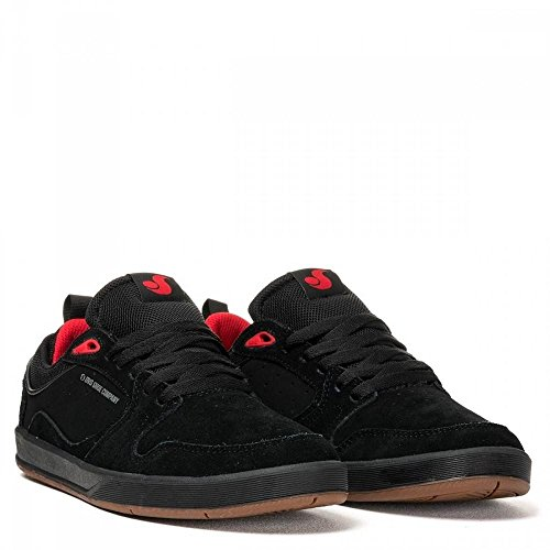 DVS Ignition SC black gum/red suede Shoes