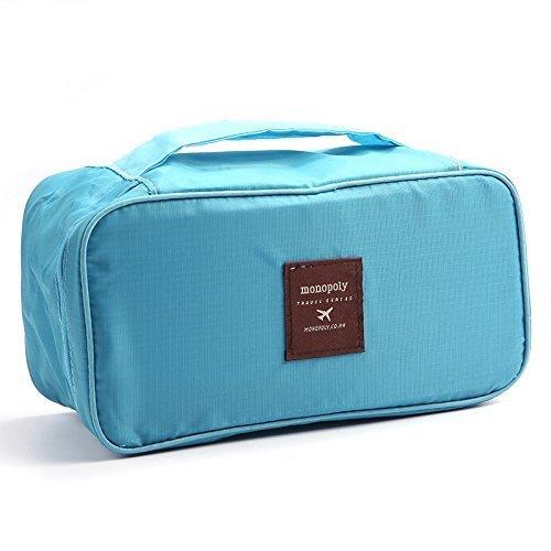 Vmore Imported Portable Underwear Bra Cosmetic Travel Storage Bag.