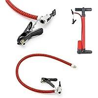 Tragbare Fahrrad Fahrrad Reifen Luftpumpe Inflator Ersatz Schlauch 60cm AA