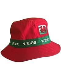 696b368d6bb Amazon.co.uk  Red - Bucket Hats   Hats   Caps  Clothing