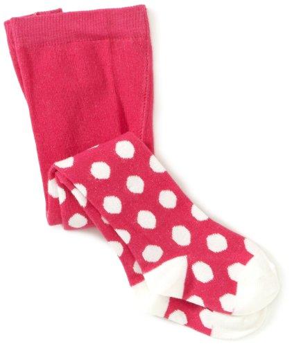 Playshoes Unisex - Baby Strumpfhose 499009 Strumpfhose Punkte von Playshoes, Gr. 74/80, Mehrfarbig (18 pink)