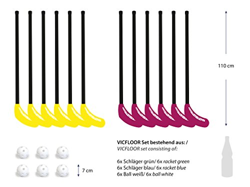 VICFLOOR 80 Set per Floorball