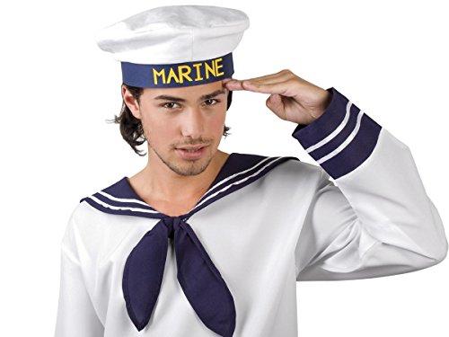Alsino Fun Karnevalshut Doktor Matrosen Polizei Hut Herren Faschingshut Damen Partyhut , wählen:Marine Matrosen Hut (Kostüm Mode Polizei Hut)