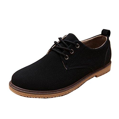 4b18b522b7d3 Gaorui Herrenschuhe Sneakers Schnürhalbschuhe Freizeit Sportliche Schuhe  blau Schwarz Schwarz