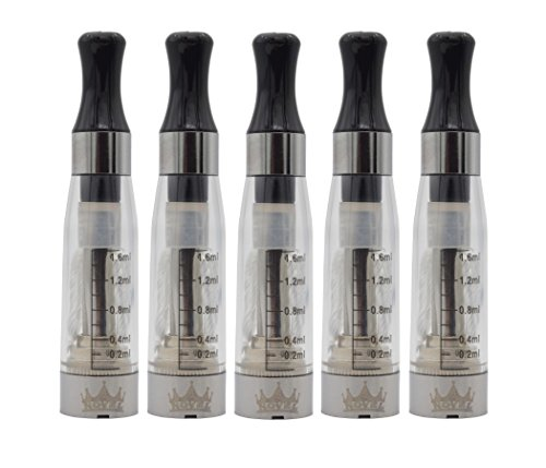 ROMIZER (Atomizer-Verdampfer) 2.4 Ohm/1.6 ml-mit langen Dochten - austauschbare Köpfe - für die elektronische Zigarette (e-Zigarette) EGO-T/EGO-C/EGO-W/510 eGo Gewinde-KLAR ()