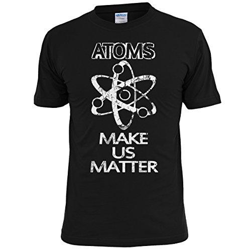 Atoms Make Us Matter Funny Geek Mens T Shirt - Free UK Postage