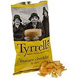 Tyrrells - Chips au cheddar et à la ciboulette - 150 g