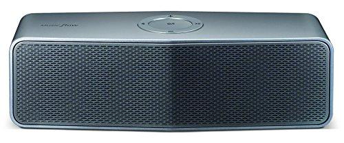LG NA8550 tragbarer Lautsprecher (20 Watt, Bluetooth) silber