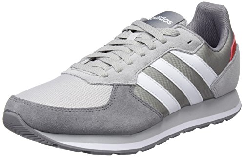 adidas Herren 8K Gymnastikschuhe, Grau Two F17/ftwr White/Grey Three F17, 42 2/3 EU