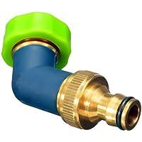 Bluelover 3/4 Inch Brass Water Hose Tap Elbow Connector Garden