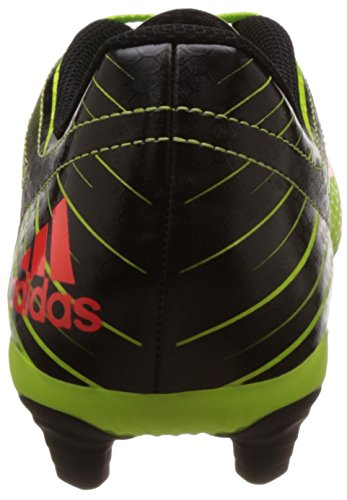 adidas Messi 15.4 Fxg, Chaussures de Football Compétition Homme Multicolore - Verde / Rojo / Negro (Seliso / Rojsol / Negbas)