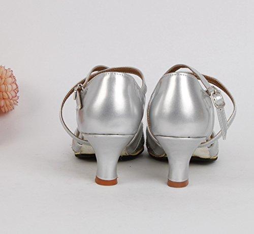 Miyoopark , Salle de bal femme Silver-6cm Heel