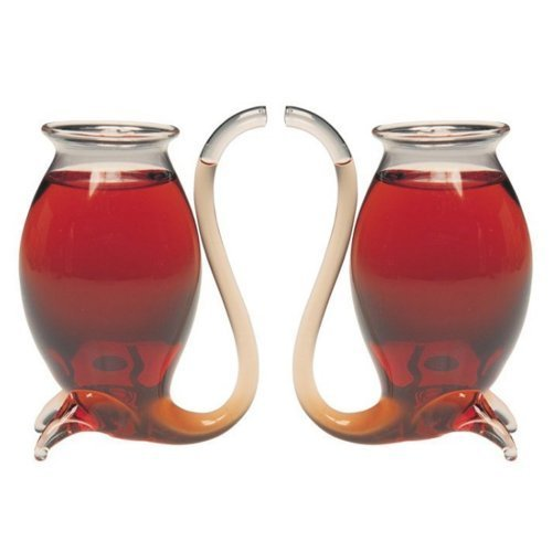 Jeray Port Sipper Glasses, Set of 2 by Jeray Port Sippers