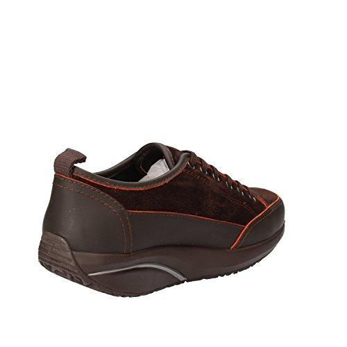 MBT Sneakers Donna Camoscio Pelle Marrone