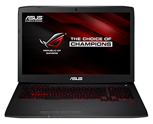 Asus ROG G751JT-T7179T 43,9 cm (17,3 Zoll mattes FHD) Notebook (Intel Core i7-4720HQ, 16GB RAM, 1TB HDD + 256GB SSD, NVIDIA GeForce GTX 970M, Blu-ray, Win 10 Home) schwarz