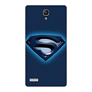 Special Blue Day Back Case Cover for Redmi Note