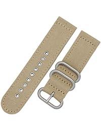 20 mm de la NATO perlón nylon estilo exóticos correas de relojes de lujo  tela de d7099909dea6