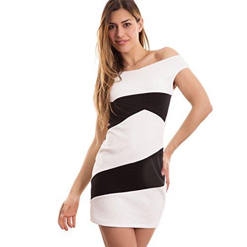 Toocool - Robe - Femme Blanc