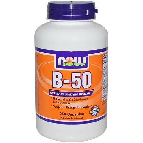 B-50, 250 Cápsulas - Now Foods