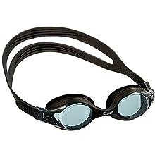 Cressi Kids' Dolphin 2.0 Goggles, Black/Lenses Dark