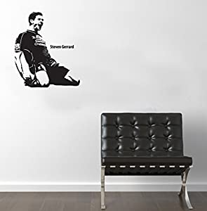 Steven Gerrard Wall Sticker Vinyl Transfer Decal 600 x 500mm by Vinyl Style