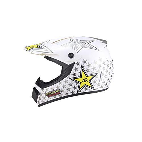 Weifan-protective gear casco moto sport off road motocross caschi dirt bike atv four seasons jieke generico (dimensioni: s) a5