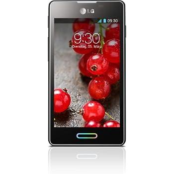 "LG Optimus L5 II (E460) - Smartphone libre Android (pantalla 4"", cámara 5 Mp, 4 GB, 1 GHz, 512 MB RAM), negro metálico [Importado de Alemania]"