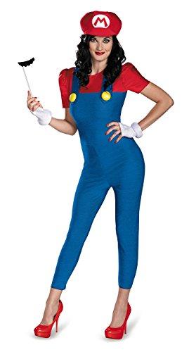 Generique - Mario Deluxe Kostüm für Damen M (Mario Kostüm Frauen)