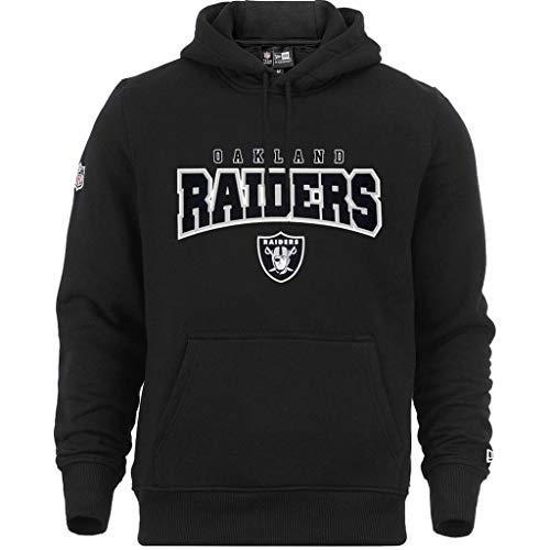 Sweats À Capuche New Era - NFL Ultra Fan Oakland Raiders noir taille: XS (X-Small)