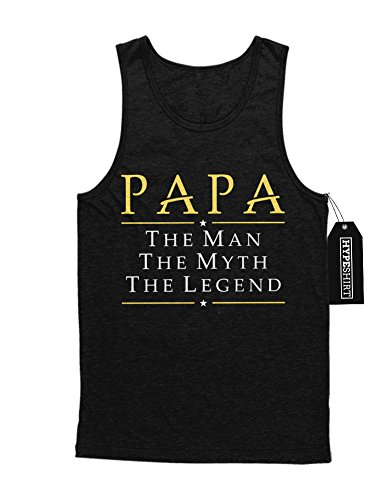 Tank-Top Papa The Man The Myth The Legend F920001 Schwarz